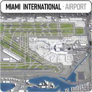 Aeroporto internazionale di Miami (MIA) 3d model