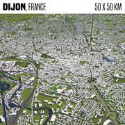 Dijon França 3d model