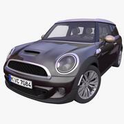Carro compatto britannico generico 3d model