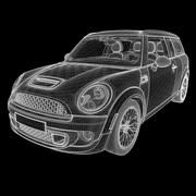 Generic British Compact Wagon 3d model