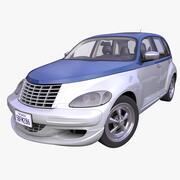 Generic American Hatchback 3d model
