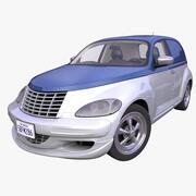 Panel Americano Genérico Hatchback modelo 3d