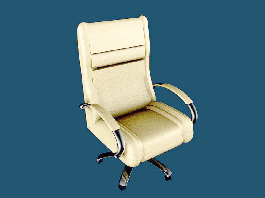 Boss Office Chair royalty-free 3d model - Preview no. 1