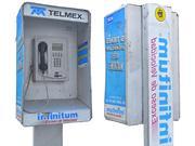 Budka telefoniczna Meksyk 3d model