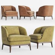 Seychelles Wood Trim Chair 3d model