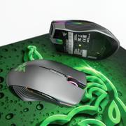 Razer LANCEHEAD 마우스 및 Razer GOLIATHUS CONTRO 3d model