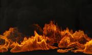 火与烟动画 3d model