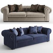 ソファと椅子の会社レナート 3d model