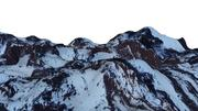 Montaña de nieve modelo 3d