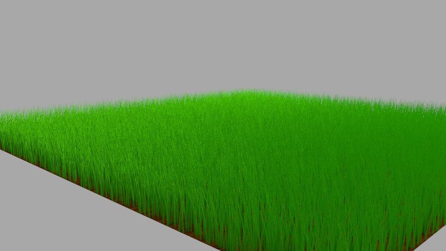 緑の草 royalty-free 3d model - Preview no. 3
