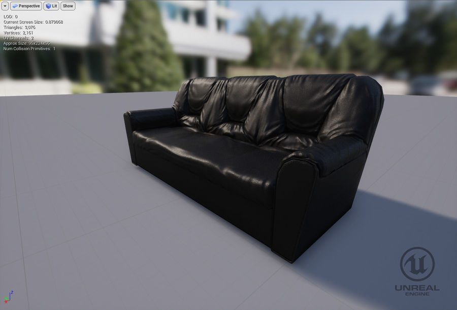 möbel royalty-free 3d model - Preview no. 19