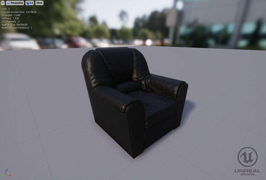 möbel royalty-free 3d model - Preview no. 20