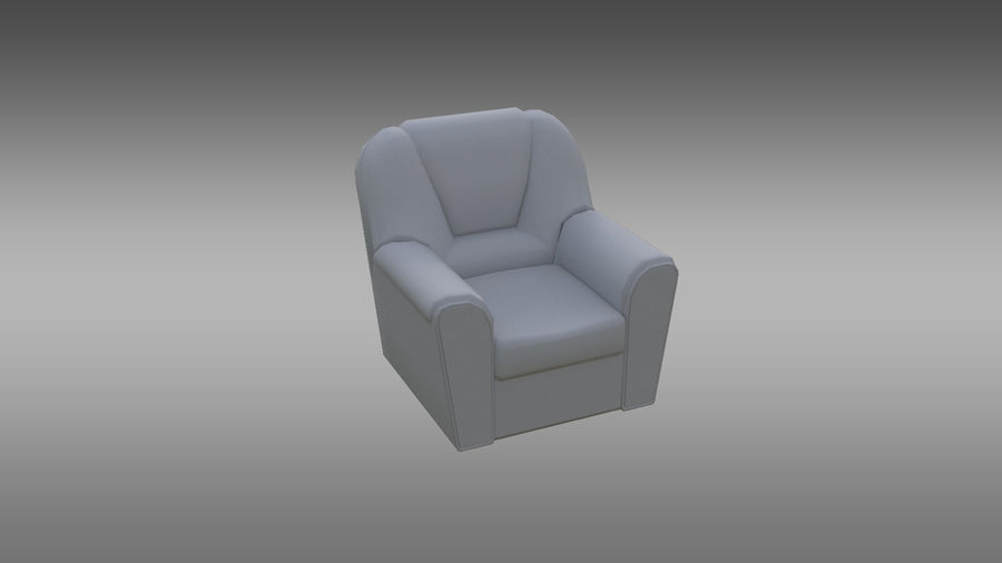 möbel royalty-free 3d model - Preview no. 12