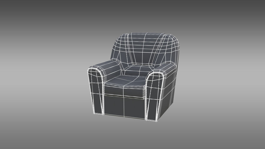 möbel royalty-free 3d model - Preview no. 14