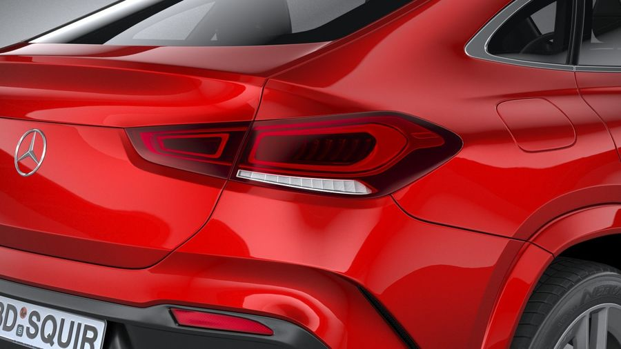 Mercedes-Benz GLE Coupe AMG 2020 royalty-free 3d model - Preview no. 19