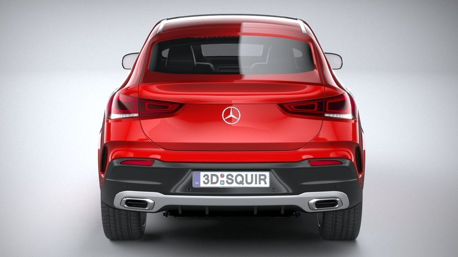 Mercedes-Benz GLE Coupe AMG 2020 royalty-free 3d model - Preview no. 5