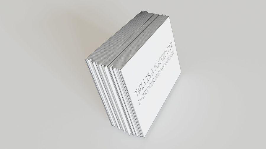 Titular do cartão de visita royalty-free 3d model - Preview no. 11