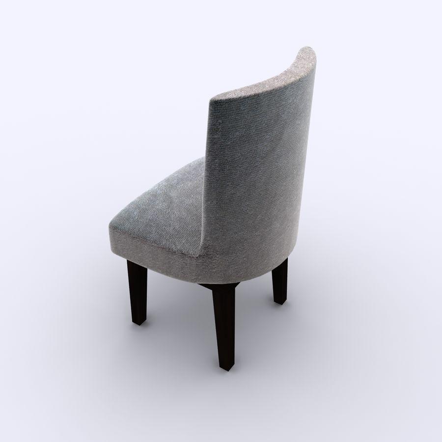식사 의자 royalty-free 3d model - Preview no. 2