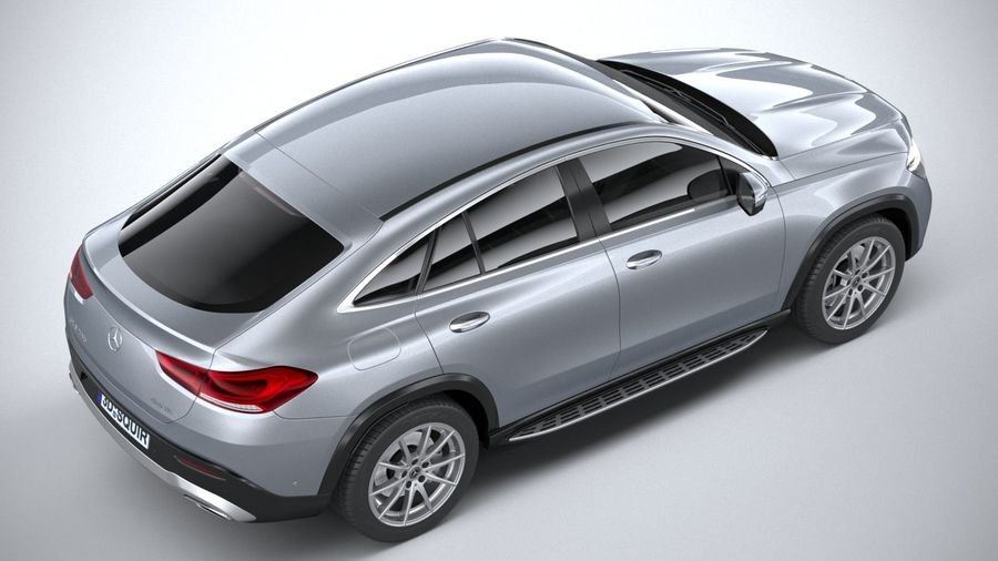 Mercedes-Benz GLE Coupe 2020 royalty-free 3d model - Preview no. 11