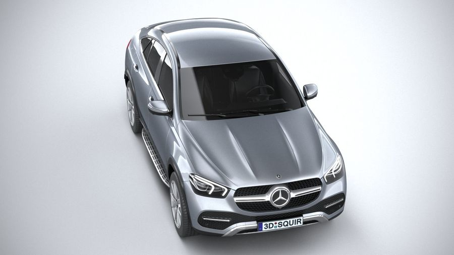 Mercedes-Benz GLE Coupe 2020 royalty-free 3d model - Preview no. 13