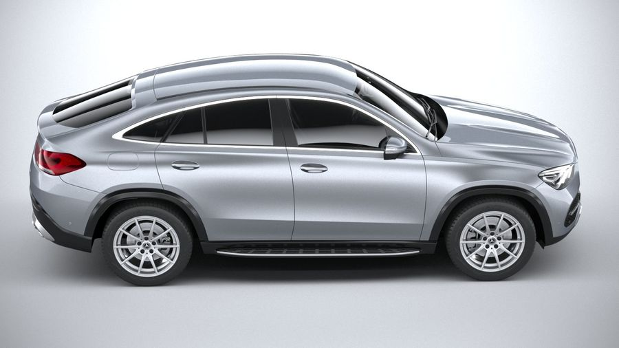 Mercedes-Benz GLE Coupe 2020 royalty-free 3d model - Preview no. 12