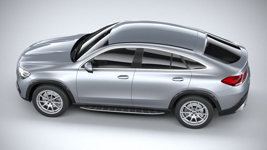 Mercedes-Benz GLE Coupe 2020 royalty-free 3d model - Preview no. 10