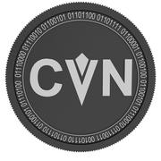 Content Value Network black coin 3d model