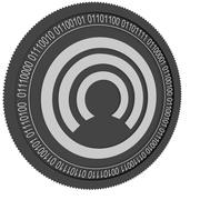 Moeda preta de moeda 3d model