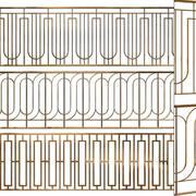 Zestaw ogrodzeń 03 3d model