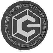Schwarze Münze der Kredit-Tag-Kette 3d model