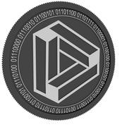 DATA black coin 3d model