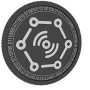 DaTa eXchange black coin 3d model