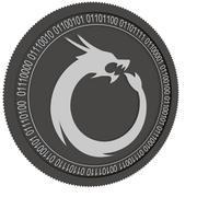 Dragon Coins black coin 3d model