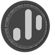 Dynamic Trading rights black coin 3d model