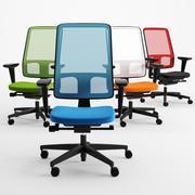 사무실 의자 조직 공간 선택 3d model