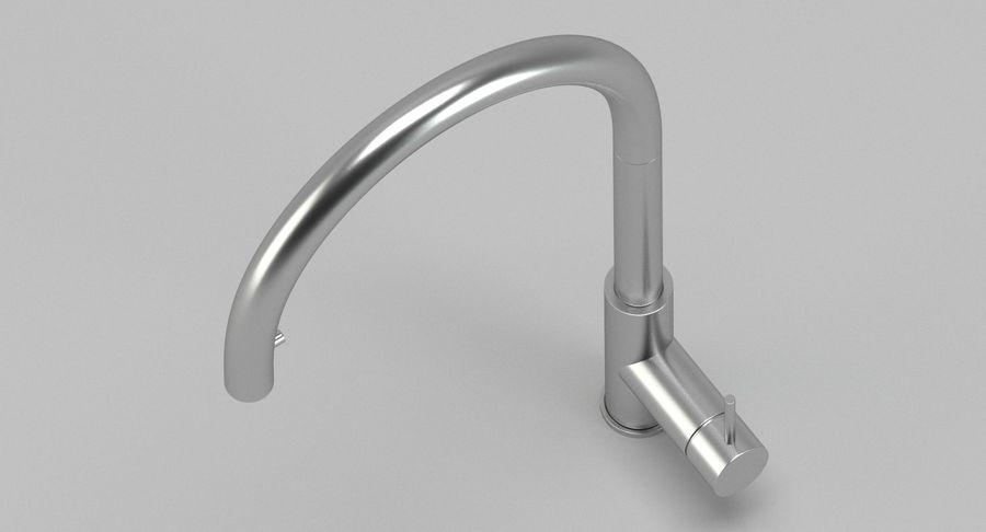 Robinet de cuisine design Cea royalty-free 3d model - Preview no. 3
