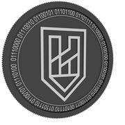 Haven Protocol svart mynt 3d model