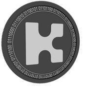 Кин черная монета 3d model