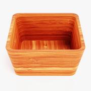 Bamboo Bowl 3 3d model