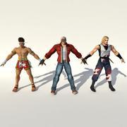 Rei do lutador (FATAL FURY) 3d model