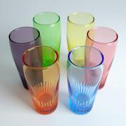 Färgat glas 3d model