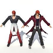 REI DO LUTADOR (Iori Yagami) 3d model