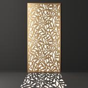 Decorative panel set 47 3d model