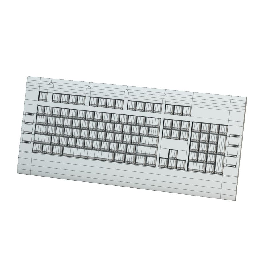 KEYBOARD_03_max royalty-free 3d model - Preview no. 5
