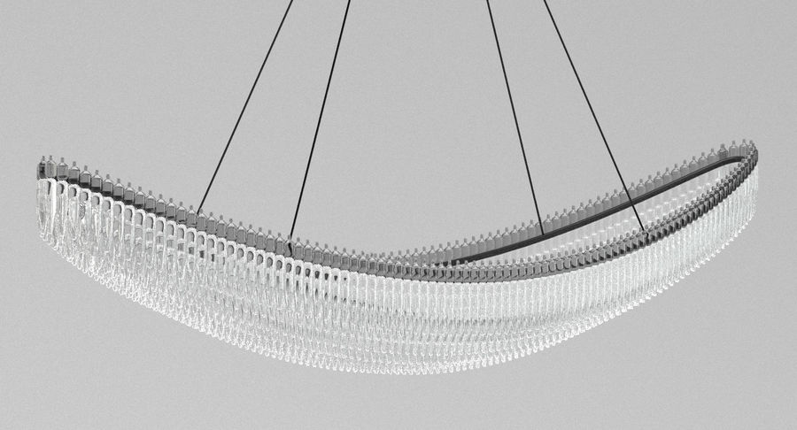 Lamp 111 royalty-free 3d model - Preview no. 3