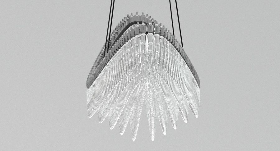 Lamp 111 royalty-free 3d model - Preview no. 2
