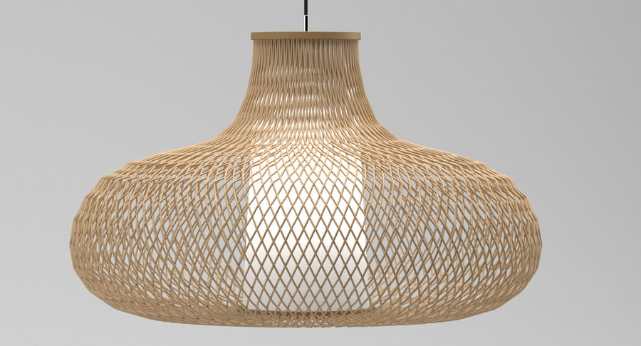 Lamp 129 royalty-free 3d model - Preview no. 1