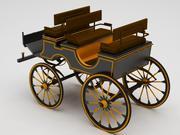 Kundvagn klassiker 3d model