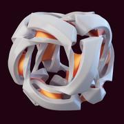 abstracte kubus (1) 3d model