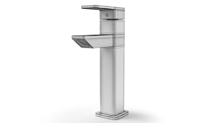 Bathroom Faucet royalty-free 3d model - Preview no. 12